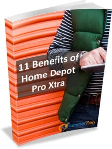 Discover the benefits of becoming a Home Depot Pro Xtra membership and shopping HammerZen