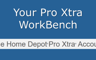 Home Depot Pro Xtra Workbench
