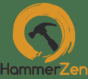 HammerZen Logo Text under Circle