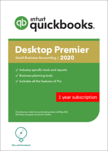QuickBooks Premier Plus 2020