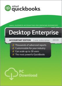 QuickBooks Enterprise Accountant 2019