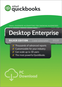 QuickBooks Enterprise Silver Edition when you buy at Home Depot