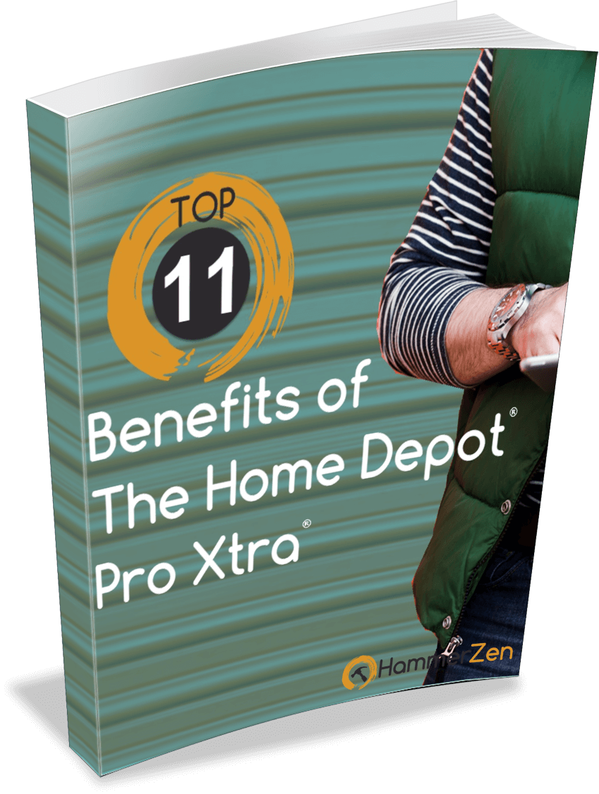 Top 11 benefits of being an Home Depot Pro Xtra Loyalty program member