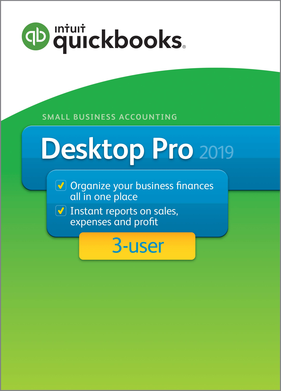 QuickBooks Desktop Pro 2019 - 3 User