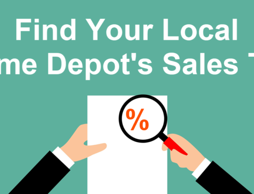 Find Your Local Home Depot's Sales Tax