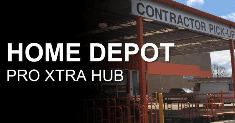 The Home Depot Pro Xtra Hub