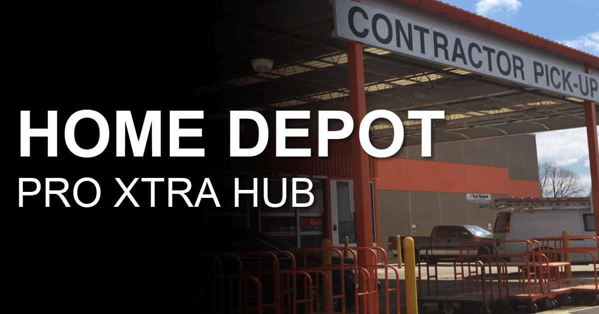 The Home Depot Pro Xtra Hub
