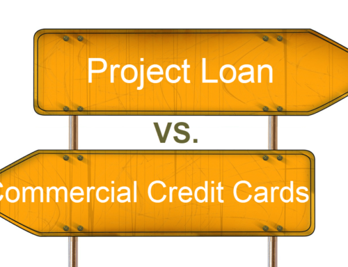 Project Loan vs. Commercial Credit Cards