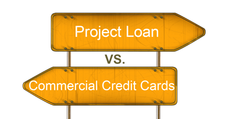 Home Depot Project Loan vs. commercial Credit Card