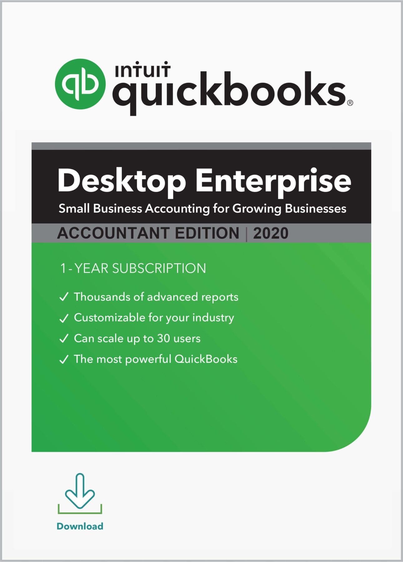 QuickBooks Enterprise Accountant 2020