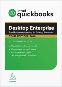 QuickBooks Enterprise Gold 2020
