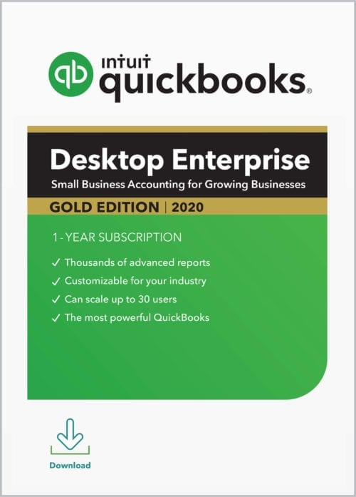 QuickBooks Enterprise Gold 2020