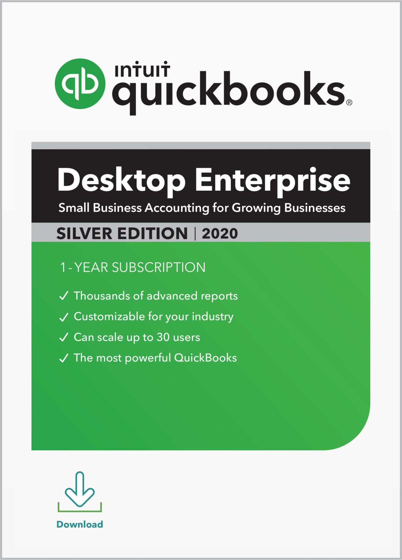 QuickBooks Enterprise Silver 2020