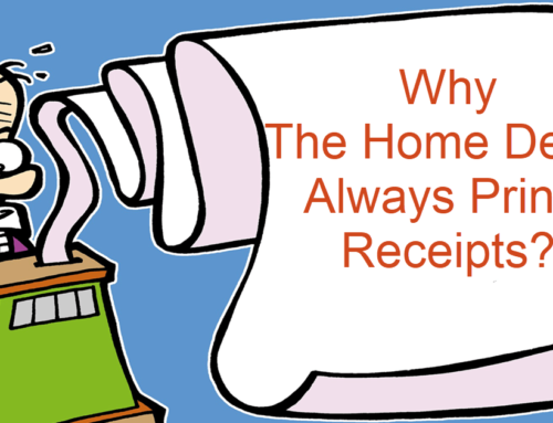 Why The Home Depot Always Prints Receipts