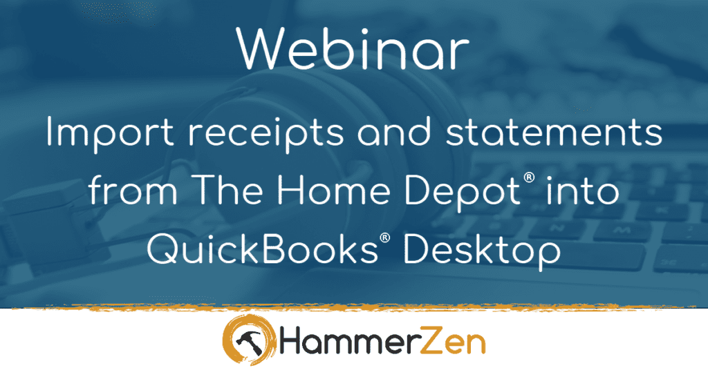 HammerZen webinar for QuickBooks Pro Premier Accountant and Enterprise
