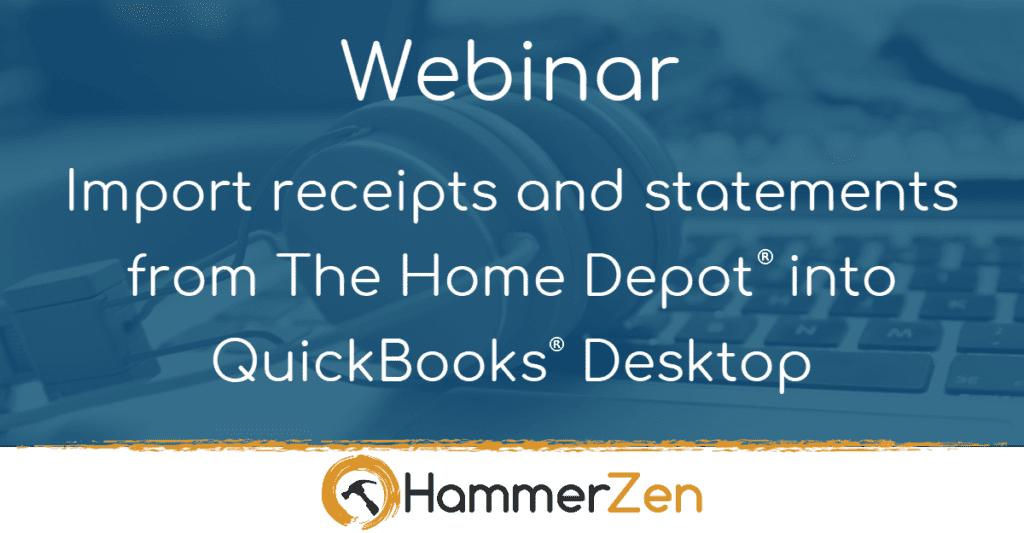 HammerZen webinar for QuickBooks Pro Premier Accountant and Enterprise