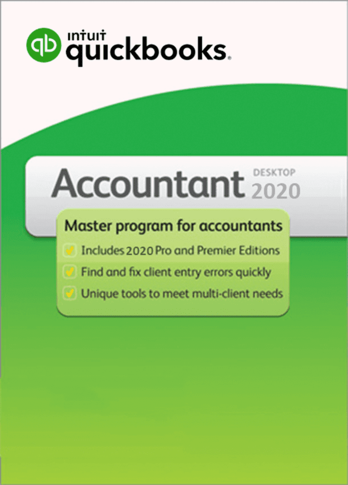 QuickBooks Accountant 2020