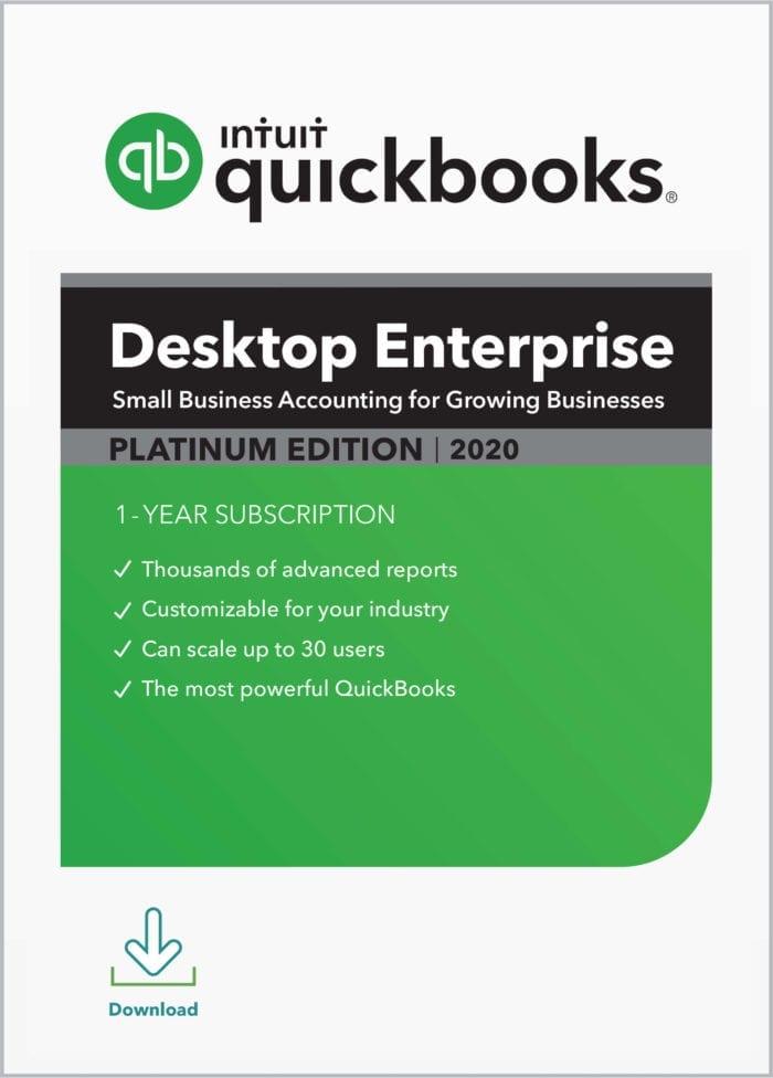 QuickBooks Enterprise Platinum 2020